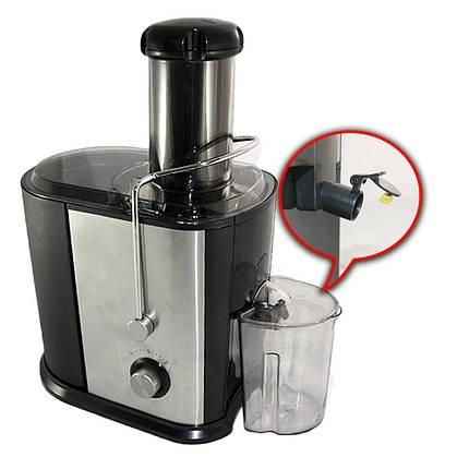 Кухонні соковижималка Domotec MS 5221 1000W апарат для фрешу з овочів і фруктів, фото 2