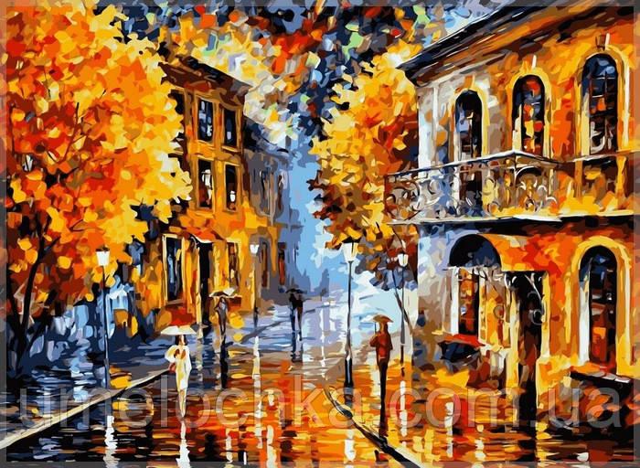 Раскраска по номерам Babylon  Осенний дождь