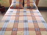 Комплект постельного белья бязь Голд Шотландка, фото 1