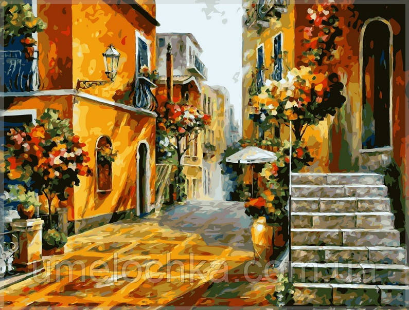 Раскраска по номерам Babylon  Солнце Сицилии