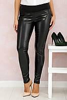 Леггинсы кожаные большого размера Кожа Italy Б, леггинсы эко-кожа, дропшиппинг, фото 1