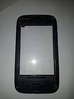 Lenovo A208t сенсор тачскрин в рамке б.у.