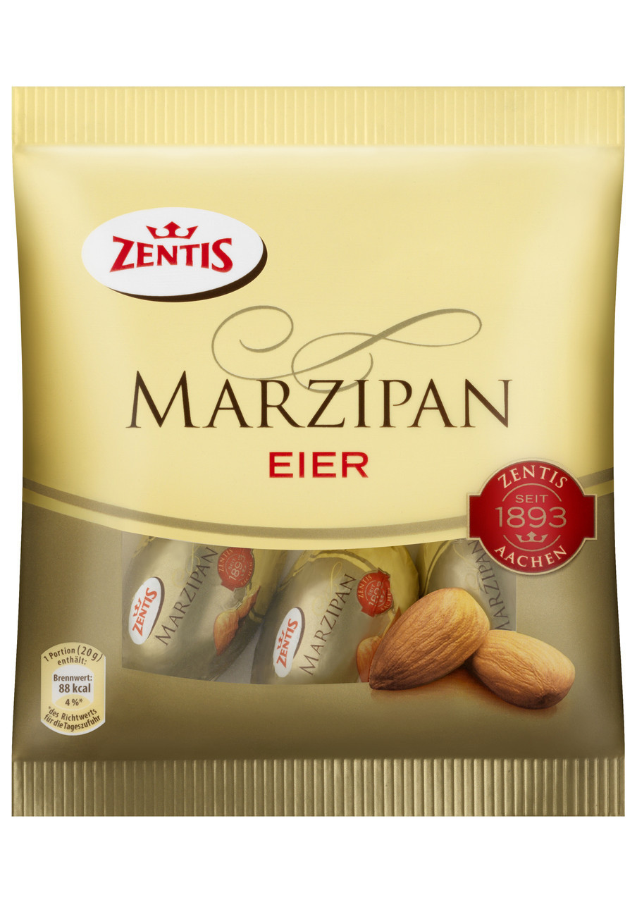 Марципан Zentis Eier 100 g