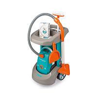 Дитячий ігровий набір-візок для прибирання Smoby 330306