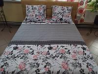 Комплект постельного белья бязь Голд Розы