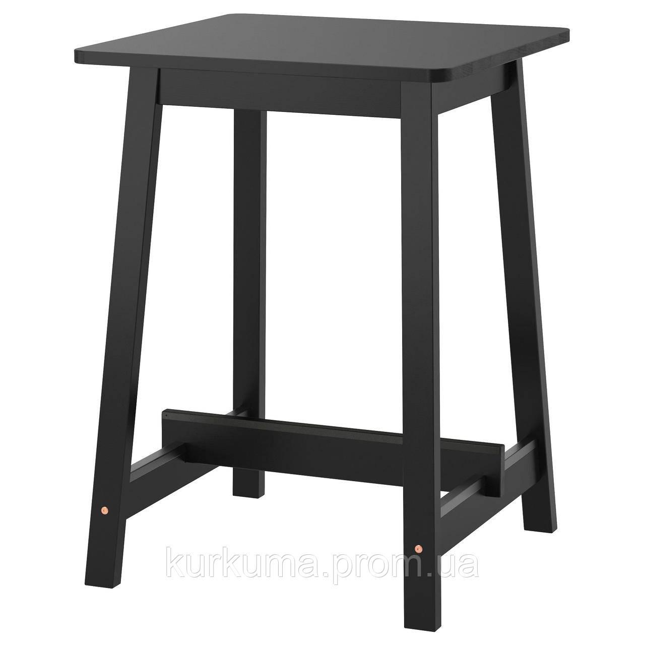 IKEA NORRAKER Барный стол, черный  (403.390.04)
