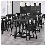 IKEA NORRAKER Барный стол, черный  (403.390.04), фото 2