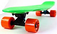 "Скейт Penny Board Original Nickel 27 ""Fish"" Green. (Пенни борд), фото 1"