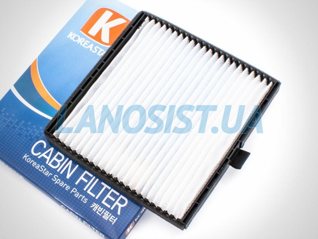 Фильтр салона Авео 1.5 T255 Koreastar KFCD015.