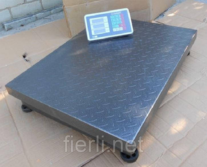 Платформенные весы Олимп 102D-16 (600 кг).  800х600 мм.