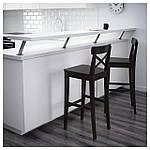 IKEA INGOLF Барный стул со спинкой, бронза  (902.485.15), фото 2