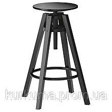 IKEA DALFRED Барный стул, черный  (601.556.02)