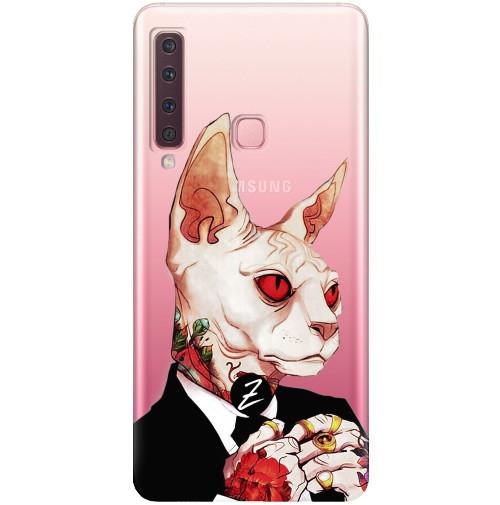Чехол для Samsung Galaxy A9 2018 Mister Cat