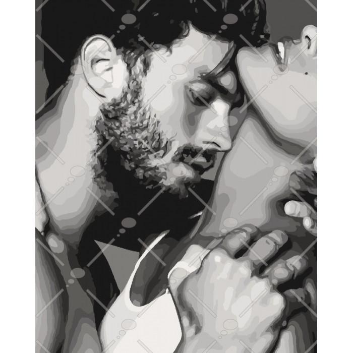 Картина по номерам Идейка - Нежность любви 40x50 см (КНО4554)