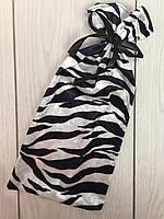 Велюровая сумочка для упаковки и хранения пижам, белья.