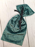 Велюровый мешочек для упаковки и хранения пижам, белья.