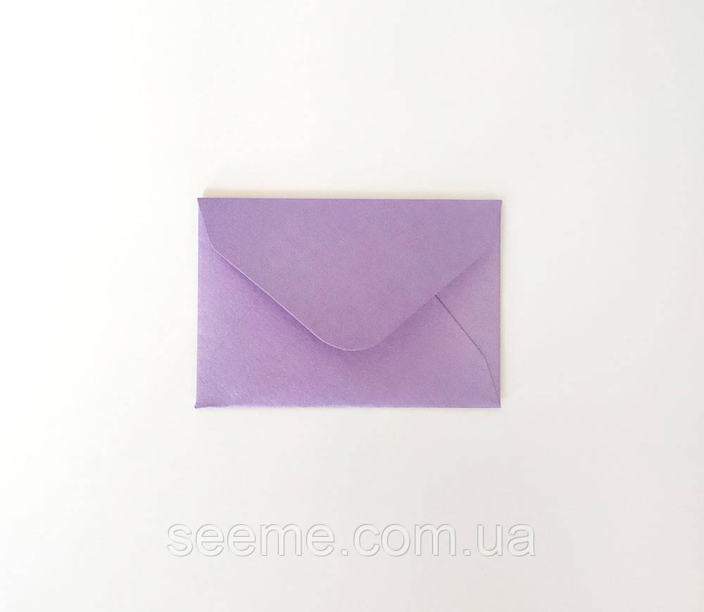 Конверт 93х64 мм, колір лавандовий (lavender)