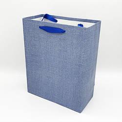 Пакет подарочный однотонный