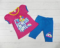 "Детский костюм  на девочку "" Fitness "" 2,3,4 года"