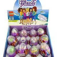 Детская игрушка. Friends в яйце, конструктор