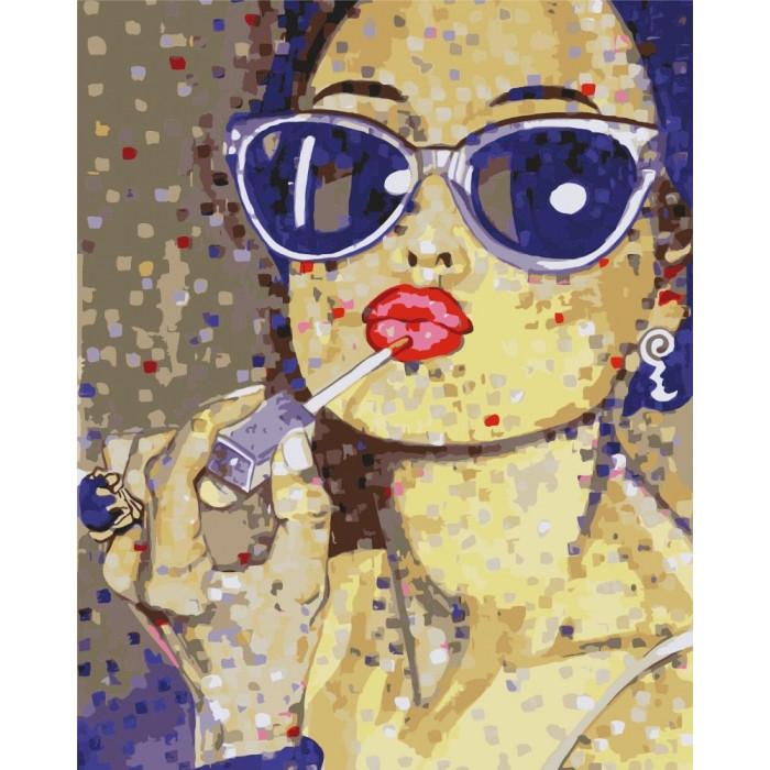 Картина по номерам Идейка - На стиле 40x50 см (КНО2667)