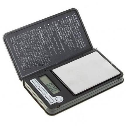 Компактные весы карманных габаритов 6225, точное определение веса 0,01-100г, подсветка экрана, обнуление тары,, фото 2