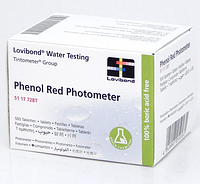 Lovibond Таблетки Phenol Red для фотометра Scuba II арт.511772BT
