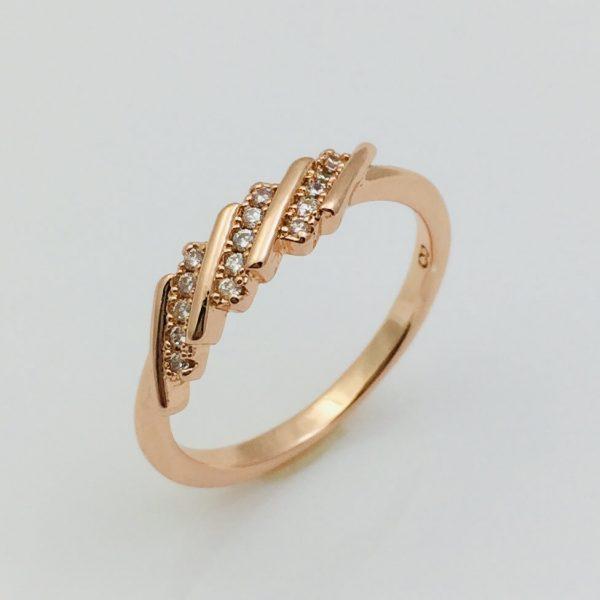 Кольцо Вьюнок, размер 17