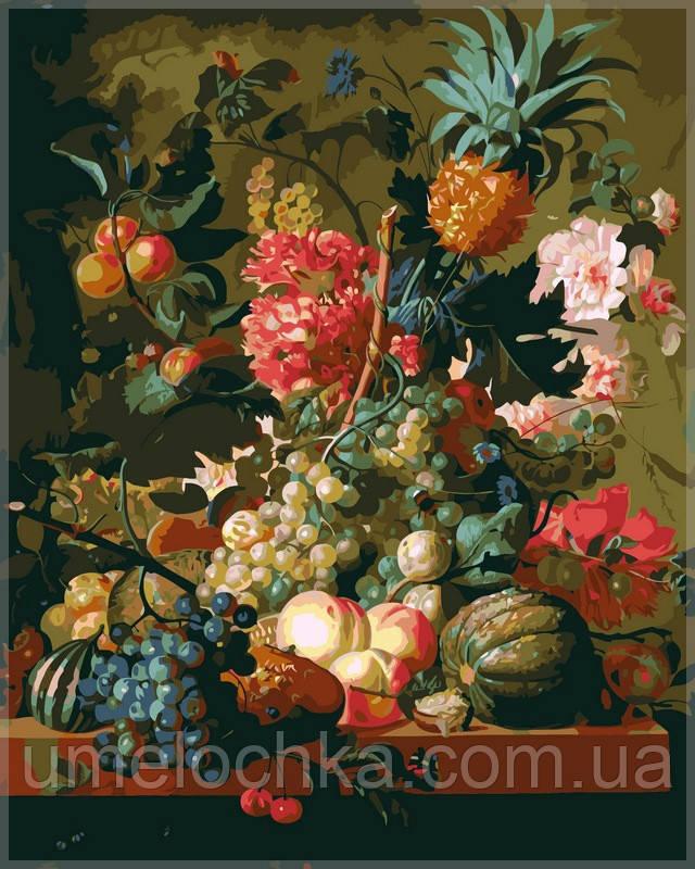 Раскраска по номерам Babylon  Цветы и фрукты