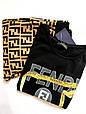 Костюм женский двойка Fendi футболка и штаны, фото 5