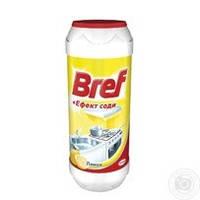 Порошок для чистки Bref + Эффект соды Лимон 500г