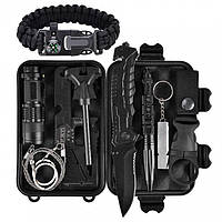 Комплект инструментов для выживания 14 в 1 survival
