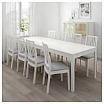 IKEA EKEDALEN/EKEDALEN Стол и 6 стульев, белый, Оррста светло-серый  (192.213.51), фото 3