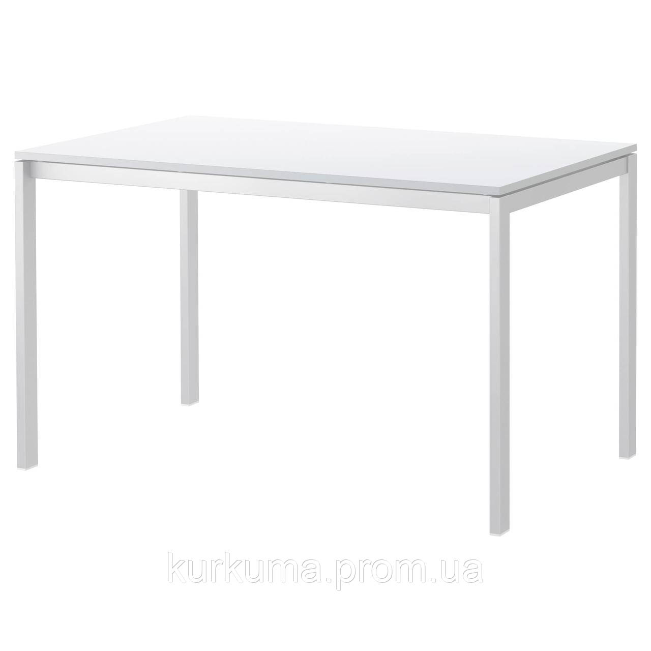IKEA MELLTORP Стол, белый  (190.117.77)