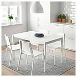 IKEA MELLTORP Стол, белый  (190.117.77), фото 2