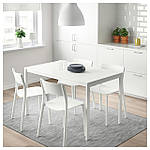IKEA MELLTORP Стол, белый  (190.117.77), фото 3