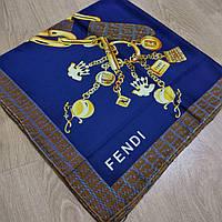 Платок Fendi синий