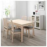 IKEA EKEDALEN Раздвижной стол, береза  (603.408.22), фото 2