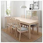 IKEA EKEDALEN Раздвижной стол, береза  (603.408.22), фото 3