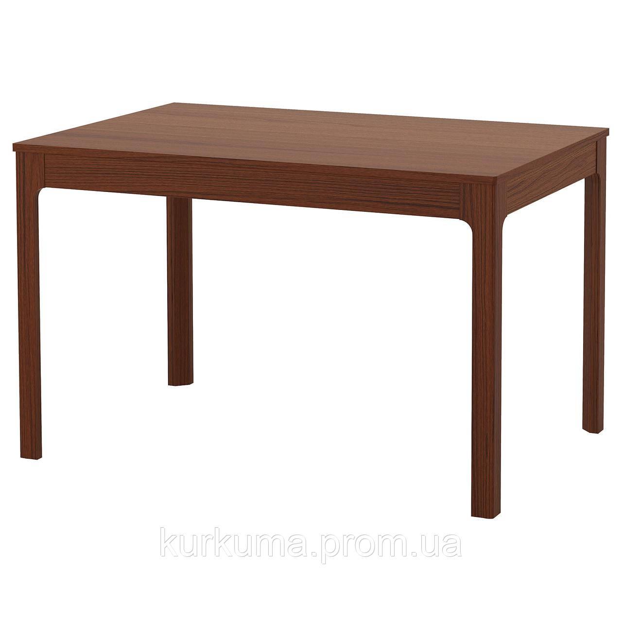 IKEA EKEDALEN Раздвижной стол, коричневый  (303.408.09)