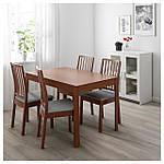 IKEA EKEDALEN Раздвижной стол, коричневый  (303.408.09), фото 2