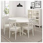 IKEA INGATORP Раздвижной стол, белый  (402.170.69), фото 4