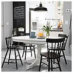 IKEA INGATORP Раздвижной стол, белый  (402.170.69), фото 5