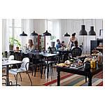 IKEA INGATORP Раздвижной стол, черный  (902.224.07), фото 8