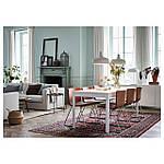 IKEA EKEDALEN Раздвижной стол, белый  (703.407.65), фото 5