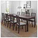 IKEA EKEDALEN Раздвижной стол, темно-коричневый  (203.407.58), фото 3