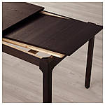 IKEA EKEDALEN Раздвижной стол, темно-коричневый  (203.407.58), фото 7
