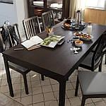 IKEA EKEDALEN Раздвижной стол, темно-коричневый  (203.407.58), фото 8