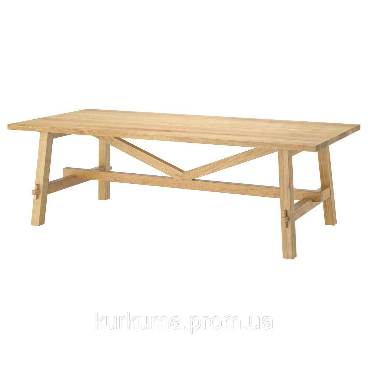 IKEA MOCKELBY Стол, дуб  (002.937.72)