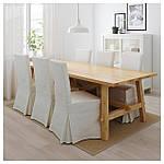 IKEA MOCKELBY Стол, дуб  (002.937.72), фото 2